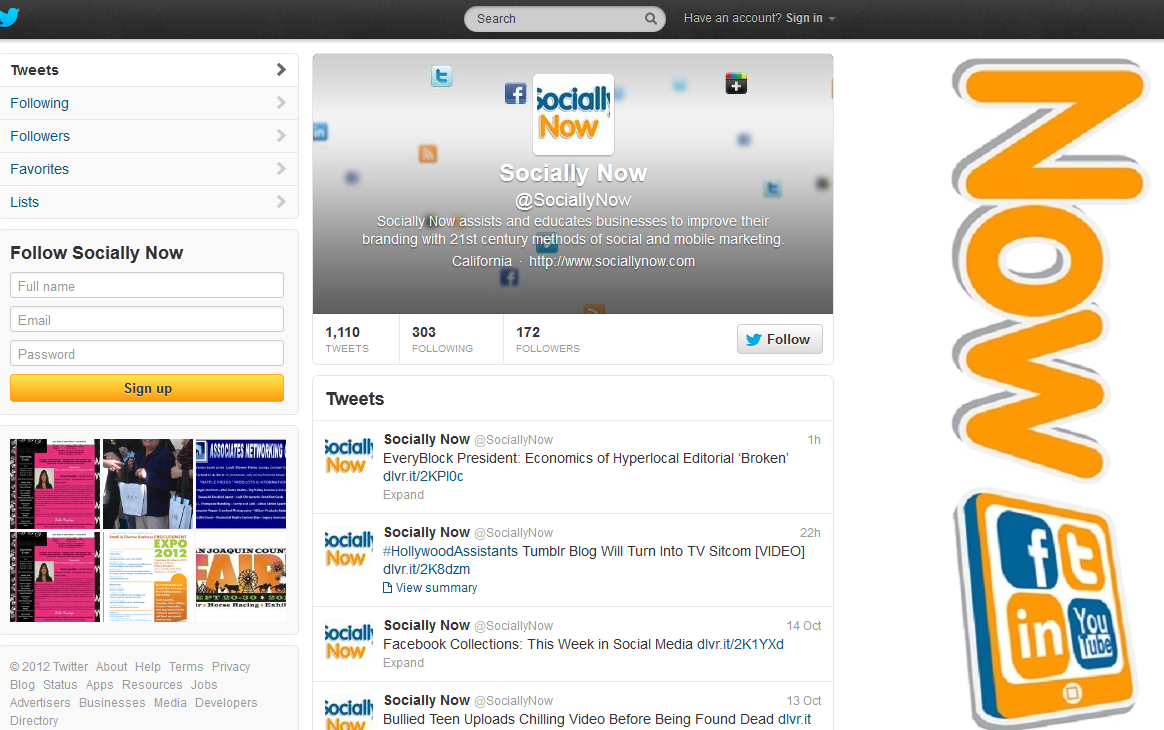Socially Now Twitter 10.15.12